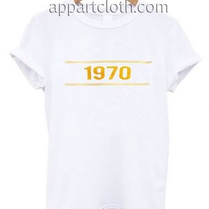 1970 striped Funny Shirts