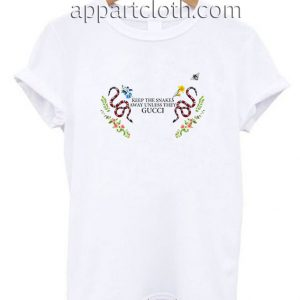 Keep The Snakes Away Funny Shirts