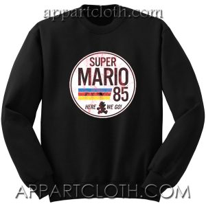 Super Mario 85 Unisex Sweatshirts