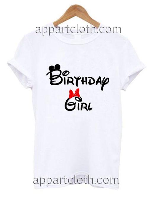 Birthday Girl Disney Inspired Funny Shirts