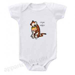 Calvin and Hobbes Funny Baby Onesie