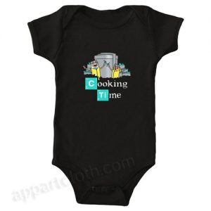 Cooking Time Funny Baby Onesie
