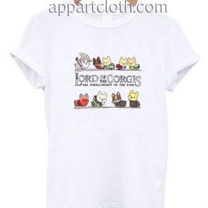 Lord Of The Corgis Funny Shirts