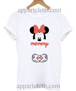 Mommy and Baby Minnie Mouse Funny Shirts