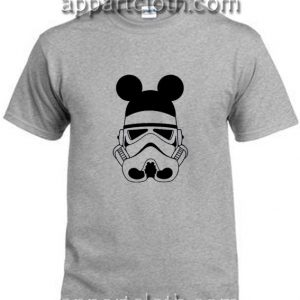 Stormtrooper Mickey Ears Funny Shirts