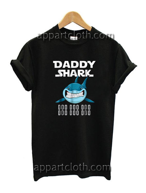 Daddy Shark Funny Shirts