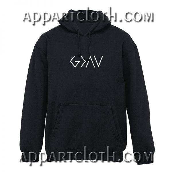 God is Greater Than The Highs and Lows Hoodie