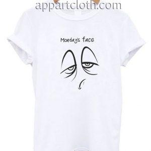 Monday Face Funny Shirts