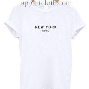 New York Soho Funny Shirts