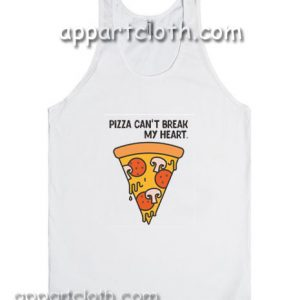 Pizza Can't Break My Heart Adult tank top