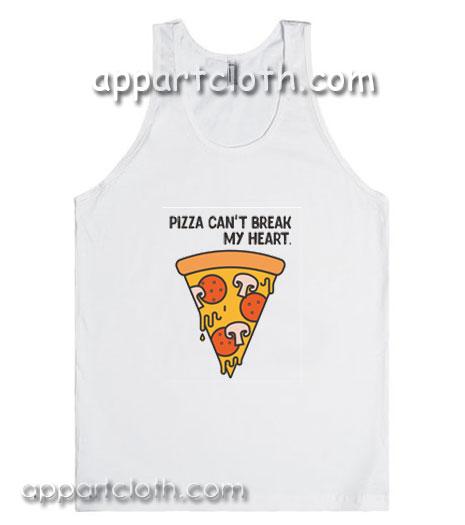 Pizza Can't Break My Heart Adult tank top
