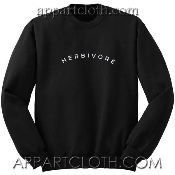 HERBIVORE vegeterian Unisex Sweatshirts