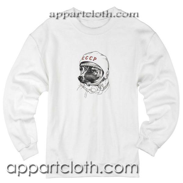 Laika The Space Dog Unisex Sweatshirts