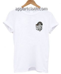 Musical Sloth Fake Pocket Funny Shirts