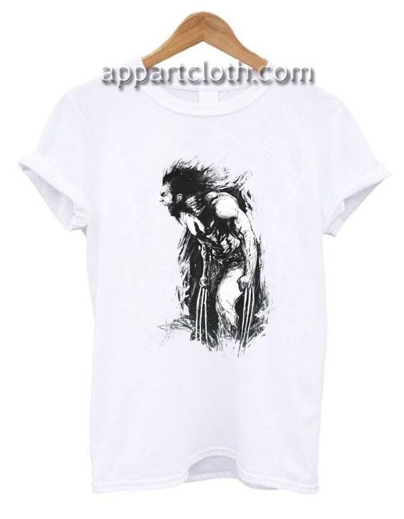 Old Man Logan Wolverine Funny Shirts