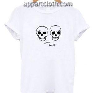 Wild Heart Skull Funny Shirts