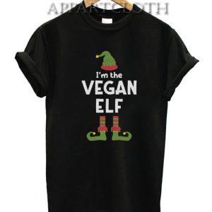 I'm The Vegan Elf Cute Christmas Funny Shirts