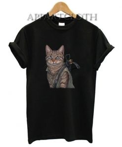 Norman reedus cat Funny Shirts