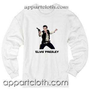 Star Wars Parody Han Elvis Solo Unisex Sweatshirt