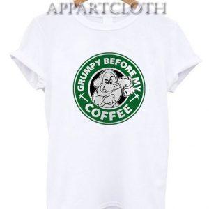 Grumpy Before My Coffee Funny Shirts