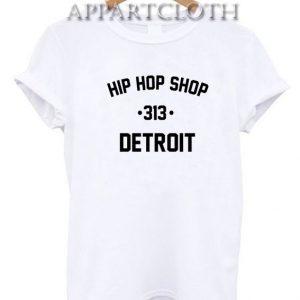 Hip Hop Shop Detroit Funny Shirts