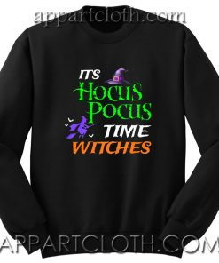 Time Witches Halloween gift Unisex Sweatshirt