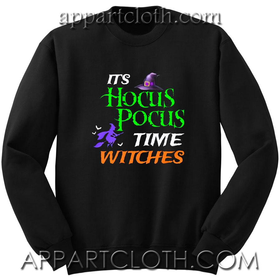 Time Witches Halloween gift Unisex Sweatshirt