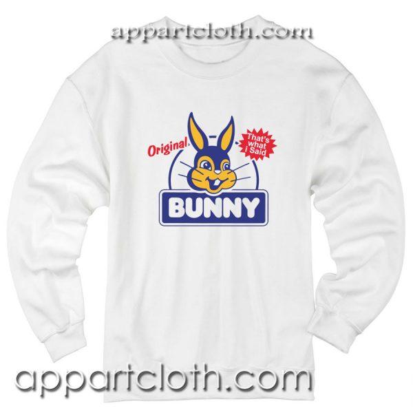 Bunny Bread Unisex Sweatshirt