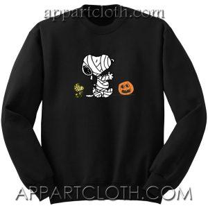 Halloween Mummy Snoopy Unisex Sweatshirt