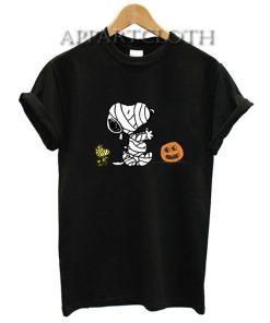 Halloween Mummy Snoopy Funny Shirts