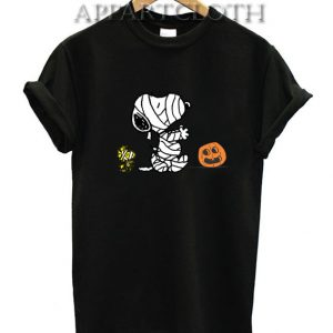Halloween Mummy Snoopy Funny Shirts