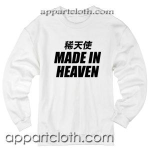 Rare Angel Made In Heaven Unisex Sweatshirt