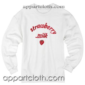Strawberry Milk Unisex Sweatshirt