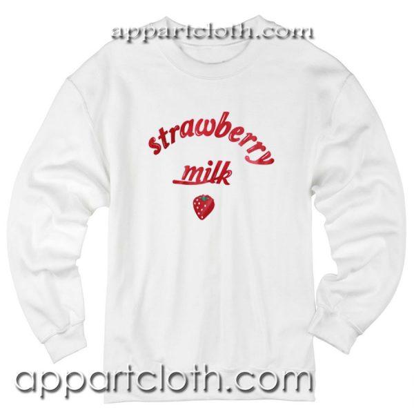 Strawberry Milk Unisex Sweatshirt