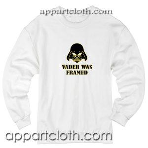 Vader Was Framed Unisex Sweatshirt