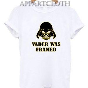 Vader Was Framed Funny Shirts