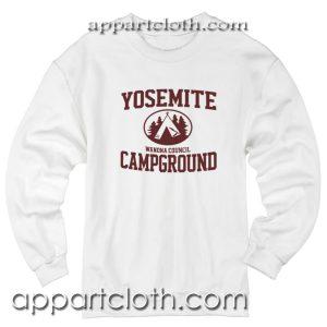 Yosemite Campground Unisex Sweatshirt