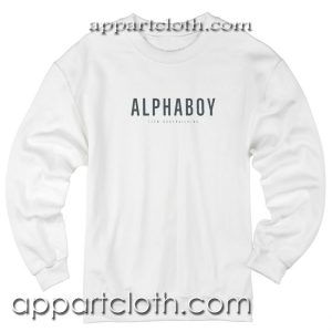 Alpha Boy Unisex Sweatshirt