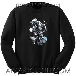 Astronaut Jellyfish Unisex Sweatshirt