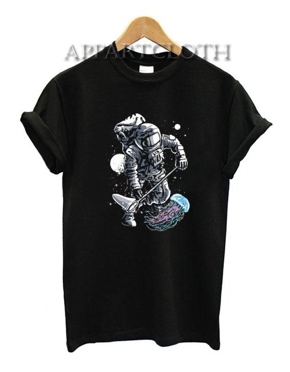 Astronaut Jellyfish Funny Shirts