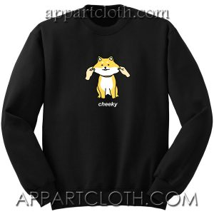 Cheeky Shiba Unisex Sweatshirt