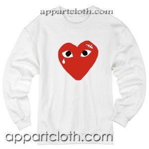 Coeur comme des garcons Unisex Sweatshirt