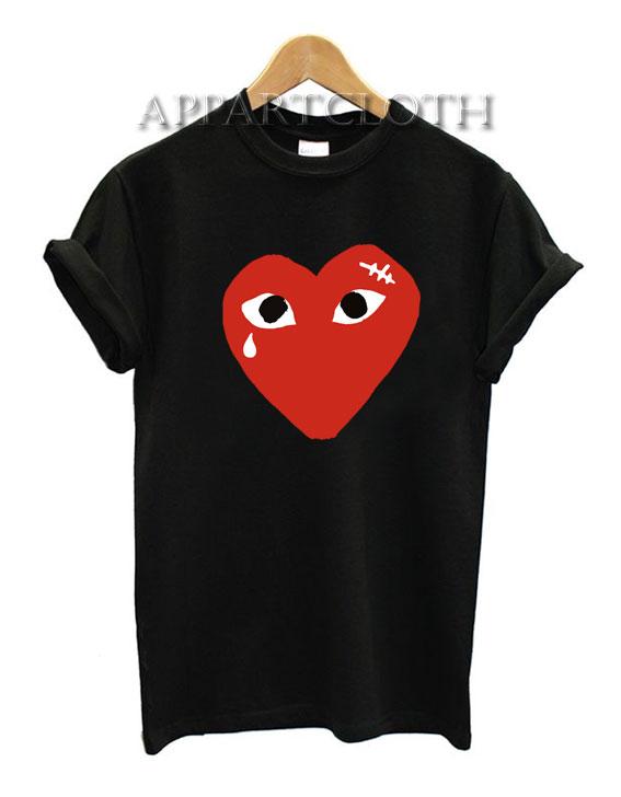 Coeur comme des garcons Funny Shirts