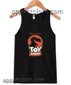 Disney Pixar Toy Story Jurassic Rex Adult tank top