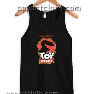 Disney Pixar Toy Story Jurassic Rex Adult tank top