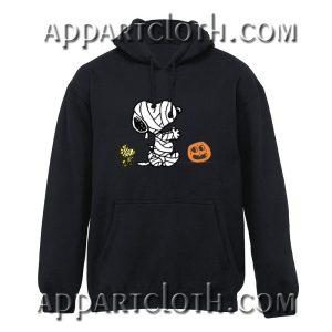 Halloween Mummy Snoopy Hoodie