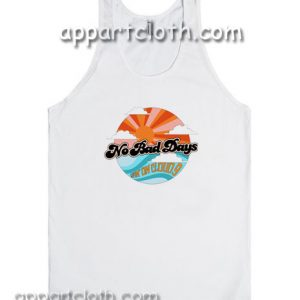 No Bad Days Livin on Cloud 9 Adult tank top