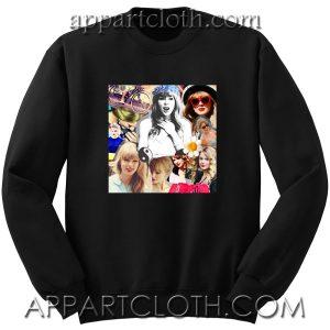 Taylor swift collages Unisex Sweatshirt
