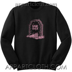 The Snake Hole Game Over Unisex Sweatshirt