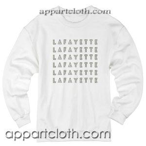 Lafayette hamilton Unisex Sweatshirt
